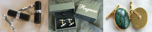 Regnas Cufflinks - a sophisticated fashion statement, an elegant gift.